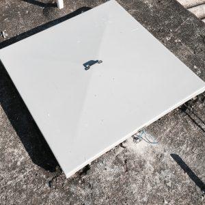 Confecção de tampas em Fiberglass